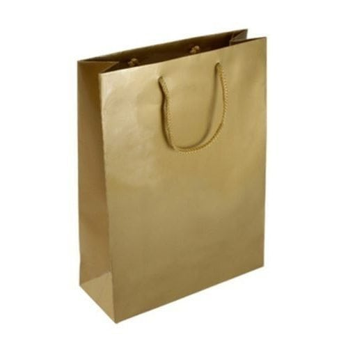 Gold Rope Handle Bag - Packaging Direct