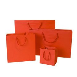 Red Rope Handle Bag - Packaging Direct