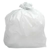 26x44 White Refuse Sack 280g