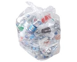 Clear 200g Refuse SAcks