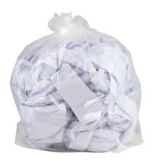 Clear 26x44 280g Refuse Sacks