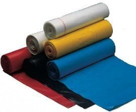 Coloured Refuse Sacks 26x44