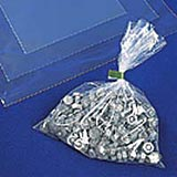 "12""x15"" Clear poly Bags 100g"