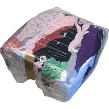 Coloured Rags 9Kg