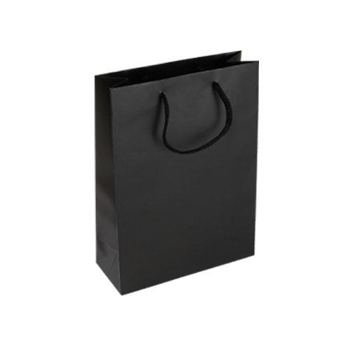 Luxury Black Rope Handle Bags - Packaging Direct
