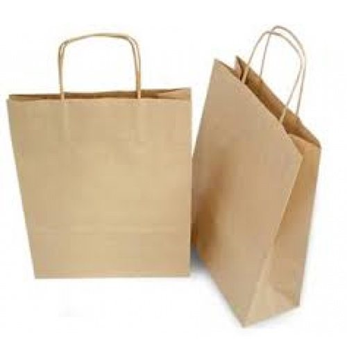 Brown Twisted Handle Carrier Bags - Packaging Direct