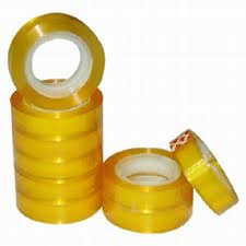"""1"""" clear tape  72 roll case"""