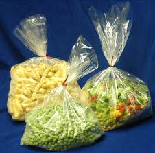 """15""""x20"""" Clear ploy bags 120g"""